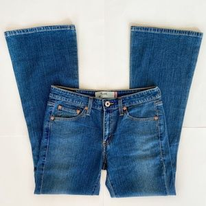 LEVIS 519 CLASSIC FLARE JEANS SIZE 7